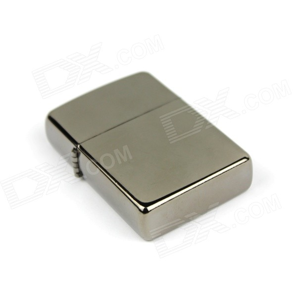 Retro Luxurious Electroplated Kerosene Lighter - Silver
