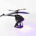 SmToys 2.5-Channel Folding Remote Control Helicopter w/ Gyro / LED - Black + Green