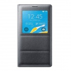 Original Samsung Galaxy Note 4 Ansicht Flip-Open Wallet Case w / Auto Sleep - Schwarz