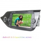 "LsqSTAR 8"" Capacitive 2Din Android 4.2 Car DVD Player w/ GPS WiFi BT SWC IPOD AUX for Kia CEED 2014"