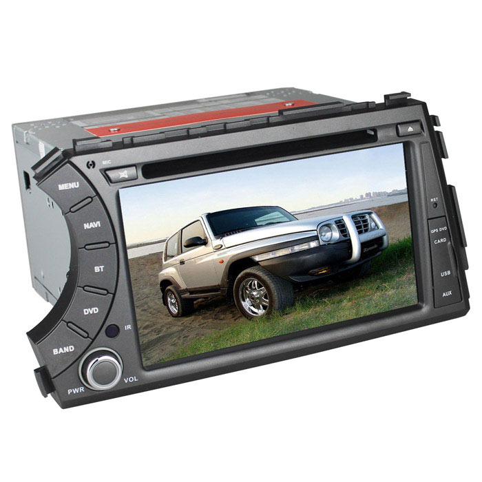 LsqSTAR 7 Capacitive Screen Android4.2 Car DVD Player w/ GPS WiFi AUX for Ssangyong Kyron 2005-2013 car mp5 player bluetooth hd 2 din 7 inch touch screen with gps navigation rear view camera auto fm radio autoradio ios