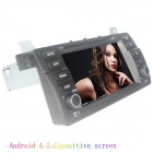 "LsqSTAR 7"" Capacitive 2Din Android 4.2 Car DVD Player w/ GPS WiFi Canbus BT for BMW E46/M3 1998-2005"