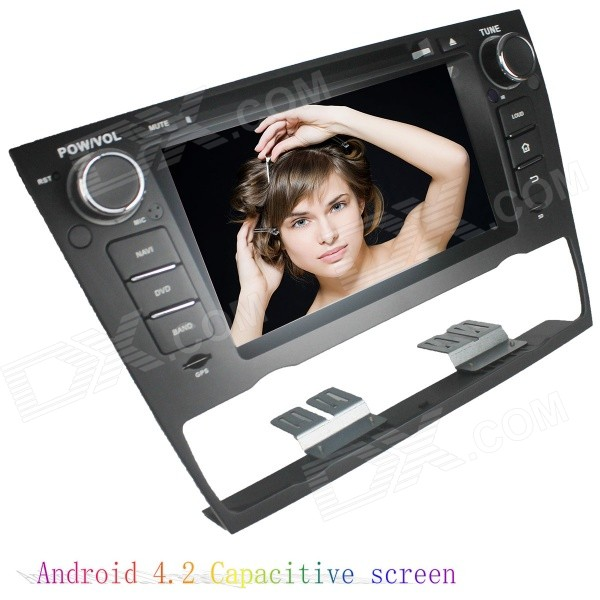 LsqSTAR 7 Capacitive 2Din Android 4.2 Car DVD Player w/ GPS WiFi BT Canbus for BMW E93/E90/E91/E92 автомобильный dvd плеер likebuying 2 din dvd gps 173 bt 8g