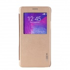 ROCK Uni Series Protective  PU + PC Case w/ Display Window / Auto Sleep for Samsung Galaxy Note 4