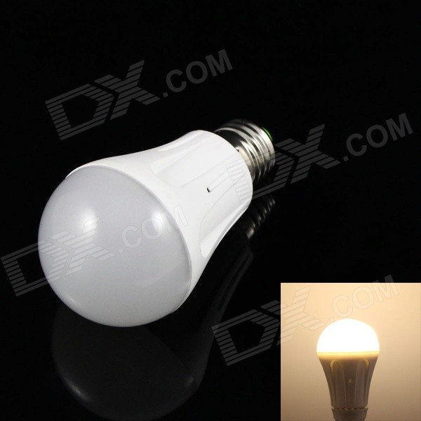 SKLED SK-W5 E27 5W 400lm 3500K 18-SMD 2835 LED Warm White Light Lamp Bulb - White (AC 85~265V)