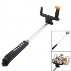 TOP-FLIGHT X-05 Wireless Bluetooth Mobile Phone Monopod for iOS / Android System w/ MF - Black