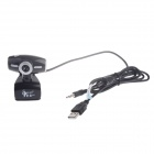 RAYANTS Q-355 8.0MP HD Webcam com Night Vision Light - Preto