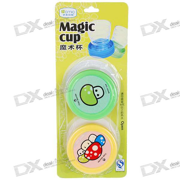 Convenient Retractable Travelers' Plastic Cups - 100ml (2-Pack)