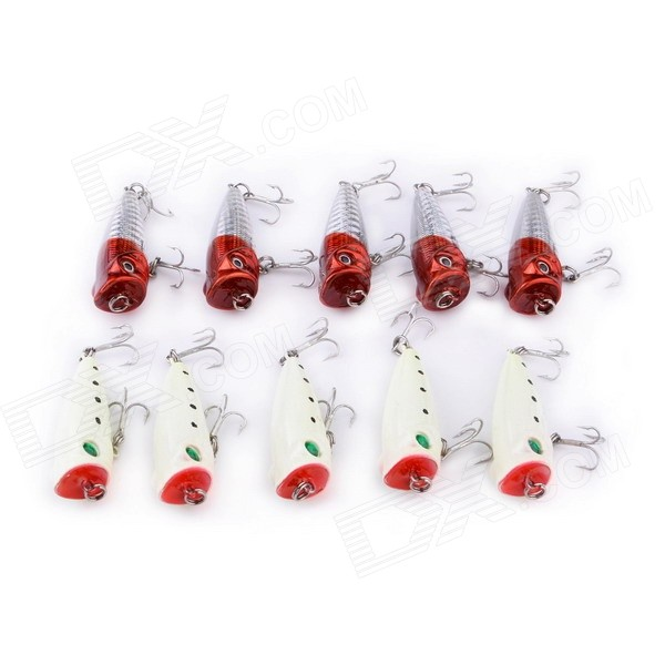 Water Wave 5cm Artificial Hard Fish Baits (10 PCS)