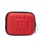 Portable Mini EVA Protective Camera Case Portable Bag - Red
