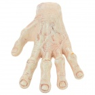 Lifelike Hand Style Tricky Prop Toy for Halloween / Costume Party - White