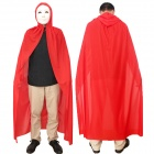 Death Cloak Mantle for Halloween / Costume Party / Cosplay - Red (M)