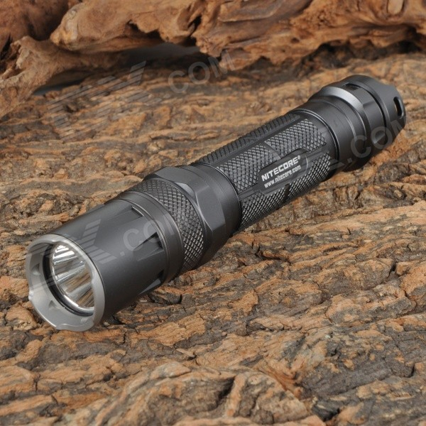 NITECORE SRT5 750lm 7-Mode Red / Blue / Cool White LED SmartRing Tactical Flashlight (1 x 18650)