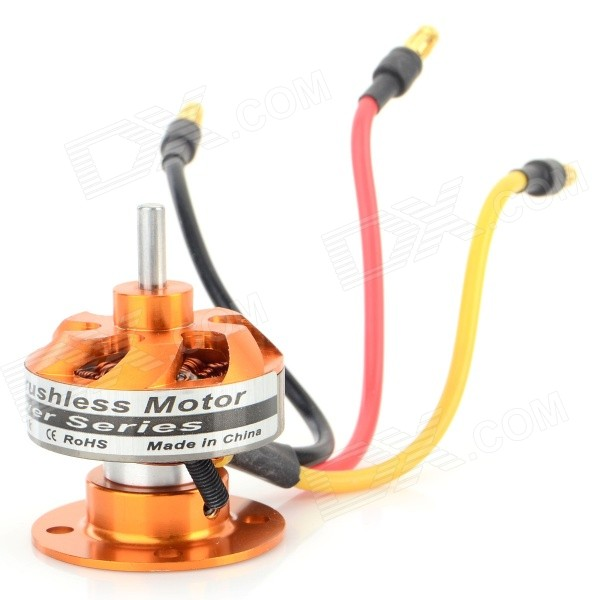CF2805-14M DIY 128W 2840KV Brushless Motor for Quadcopter R/C Helicopter - Black + Antique BrassOther Accessories for R/C Toys<br>Form  ColorAntique Brass + Black + Multi-ColoredModelCF2805-14MMaterialBrass + iron + plasticQuantity1 DX.PCM.Model.AttributeModel.UnitCompatible ModelR/C helicopterOther FeaturesRecommended electronic speed controller: 30A; bearing diameter: 3.17mm; recommended propeller: 6X4/7X3 Max. current:17.5APacking List1 x Brushless motor1 x Fastening gasket1 x O gascket<br>