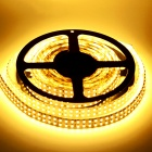 HML D35 Dual-Row 96W 4500LM 3300K 1200 SMD 3528 Warm White Light Strip - Branco (5m / DC 12V)