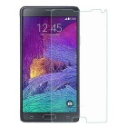 Protective Tempered Glass Screen Guard Membrane for Samsung Note 4 - Transparent