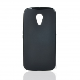 Protective TPU Back Case for MOTO G2 - Black