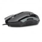 JUEXIE G3 Multi-Functional USB 2.0 Wired Six-Button 800 / 1200 / 1600dpi Gaming Mouse - Black