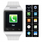 "ZGPAX S18 GSM Watch Phone w / 1,54 ""kapazitiver Bildschirm, Quad-Band, Bluetooth, FM - White (UK)"