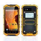 "A9 MTK6582 Shockproof Quad-Core WCDMA Phone w/ 4.3"" Screen, 6GB ROM, WiFi, NFC, GPS, Bluetooth, FM"