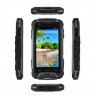 "Huadoo V3 IP68 étanche Quad-core Android 4.4 3G Smartphone w / 4.0 "", WiFi, NFC, 8 Go ROM, Bluetooth"
