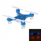 2.4GHz 4-Channel 6-Axis Indoor Mini UFO w/ Gyro / LED Light - Blue