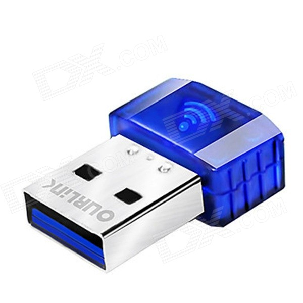 OURLINK WU331EU Mini Wireless 300Mbps USB Wi-Fi Repeater - Blue