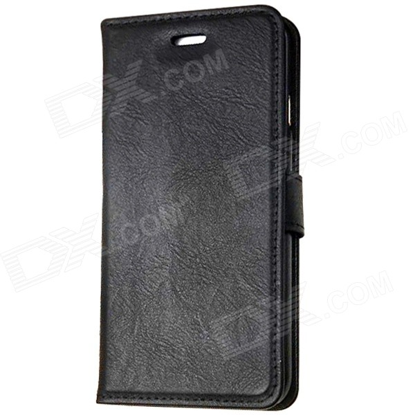 "Mr.northjoe Protective PU Leather Flip-aberto caso w / stand para IPHONE 6 4.7 ""- Preto"