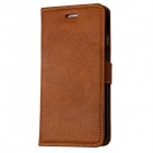 "Mr.northjoe Protective PU Leather Flip-open Case w/ Stand for IPHONE 6 4.7""-  Brown"
