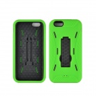 "Angibabe 2 in 1 Hybrid Hard PC Case + Soft Silicone Back Cover for IPHONE 6 4.7"" - Green"