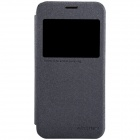 NILLKIN Protective PU Leather + PC Case Cover for Samsung Galaxy S5 Mini - Black