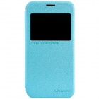 NILLKIN Protective PU Leather + PC Case Cover for Samsung Galaxy S5 Mini - Blue