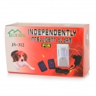 JS-312 Home Infrared Induction Alarm Device w/ 2 x Remote Controllers - White (EU Plug)