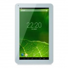 "YQ-V12 10.1 ""Android 4.4 ATM7029 Quad-Core Tablet PC w / 1 GB RAM, 8 GB ROM, Bluetooth, Wi-Fi - Weiß"