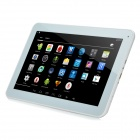 "YQ-V12 10,1"" Android 4.4 ATM7029 firekjerners Tablet PC med 1GB RAM, 8GB ROM, Bluetooth, Wi-Fi - hvit"
