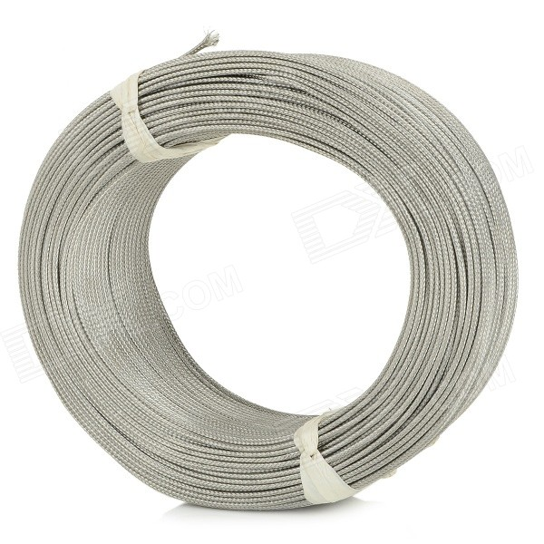 K-type Thermocouple Copper Wire Cable - Silver (100m)