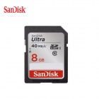 SanDisk High Speed SDHC Memory Card - Black (8GB / Class 10)