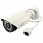 "SANNCE Waterproof 1.0MP 720P 1/4"" CMOS P2P IP Camera w/ 30-IR-LED / Wi-Fi - White (US Plug)"