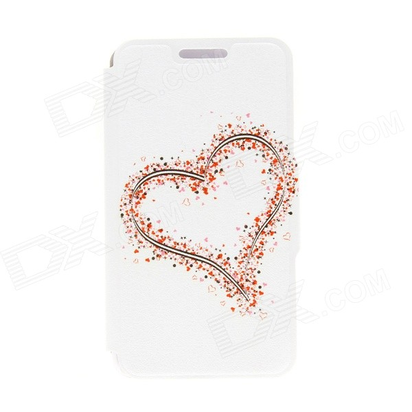 Kinston Hearts Pattern PU Leather Full Body Cover with Stand for IPHONE 6 PLUS kinston color flowers diamond paste pattern pu leather full body case cover stand for iphone 6 plus