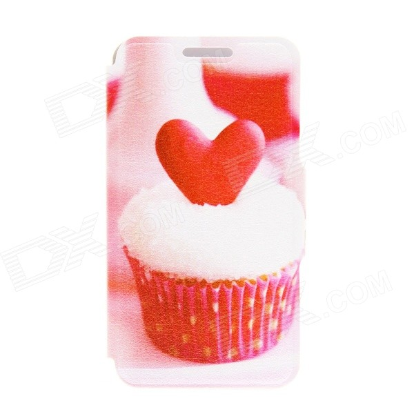 Kinston Heart of the Cake Pattern PU Leather Full Body Cover with Stand for IPHONE 6 PLUS kinston flowers