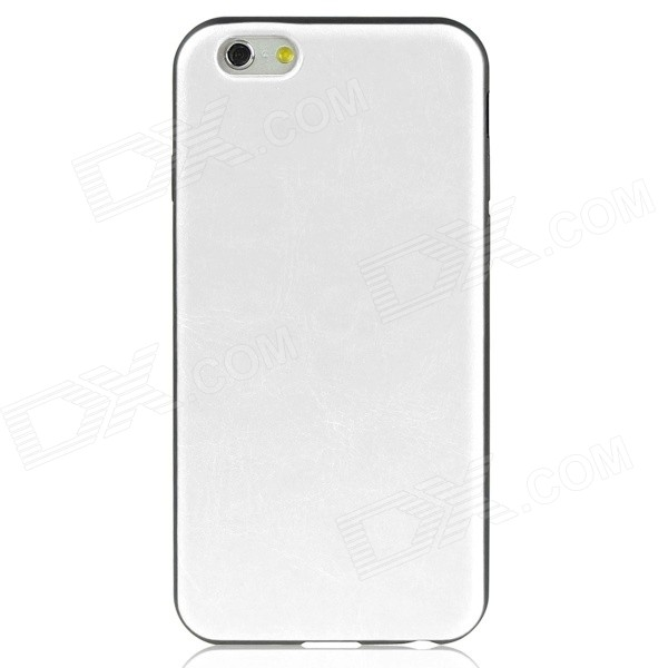 Hat-Prince Protective Back Case Soft Cover for IPHONE 6 4.7 - White protective silicone soft back case cover for iphone 5 white