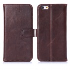 Buy Hat-Prince Protective Case Stand + Card Slots IPHONE 6 4.7 inch - Deep Brown