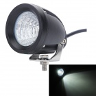 MZ 15W 1300lm 6000K White MK-R Flood Beam Car LED Working Lamp - Black (10~30V)
