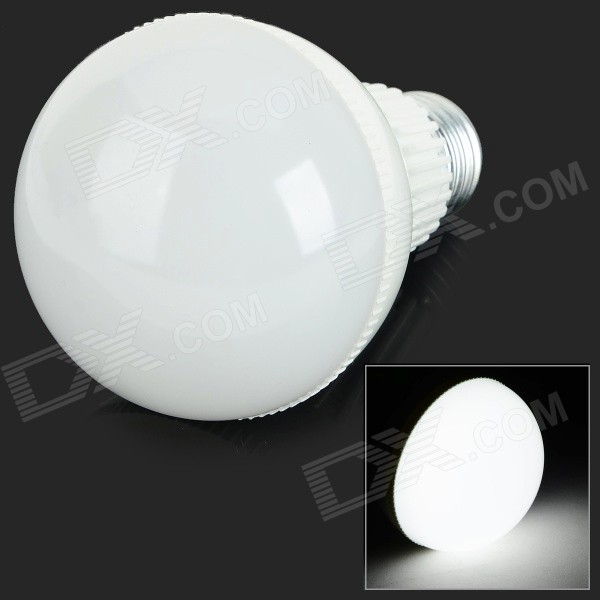G-007 E27 7W 560lm 6000K 14-SMD 5730 LED White Light Bulb - White (AC 85~265V)