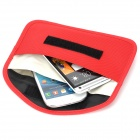 "D55 Protective Anti-Radiation Signal Shielding Pouch Bag for 5.8"" Cell Phone - Red"