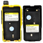 "NUT AT-828UV 1.6"" LCD Dual Band 128-CH Walkie Talkie w/ FM - Black + Yellow"