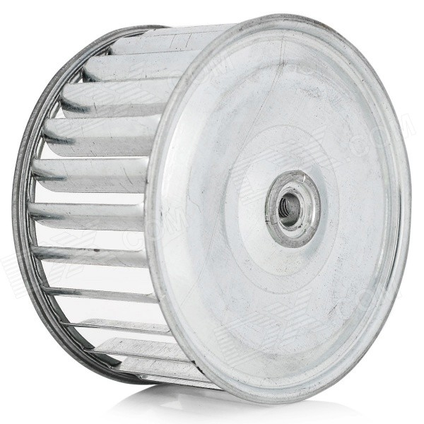 4 Stainless Steel Centrifugal Wind Wheel / Sirocco Fan - Silver fantech fr 250 inline centrifugal 10 duct fan molded housing ð 649 cfm