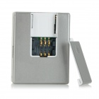 Real-time GSM Positioning Tracker Anti-theft Vibration Door Alarm - Silver (AC 100~240V)