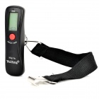 "A18L Portable 1.2"" Luggage Electronic Scale - Black (1 x CR2032 / 10g~50kg)"