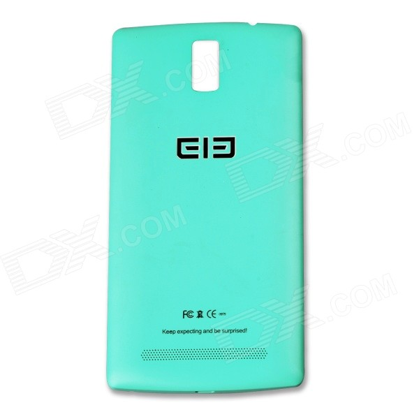 Replacement Battery Back Cover Case for Elephone G5 - Cyan